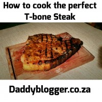 DaddyBlogger Steak